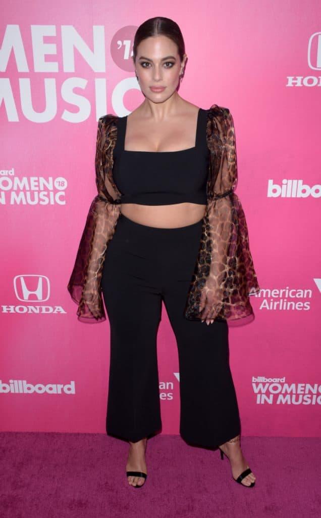 Ashley Graham at Music event
