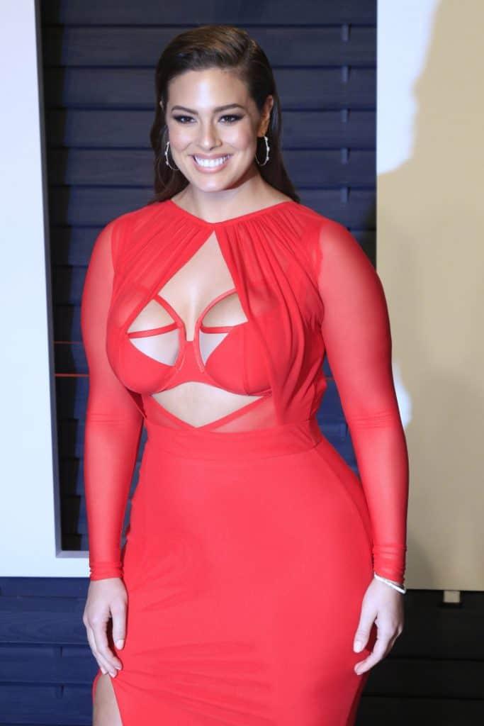 Ashley Graham's plus size figure