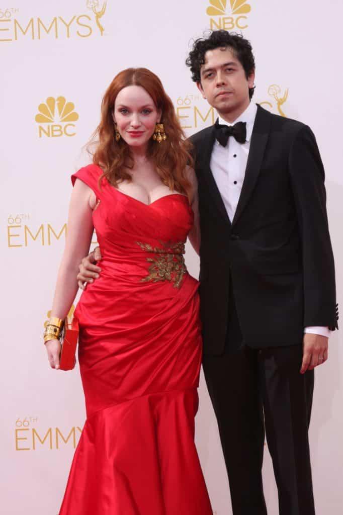 Christina Hendricks and Geoffrey Arend