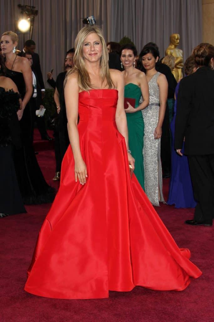 Jennifer Aniston at the 85th Academy Awards
