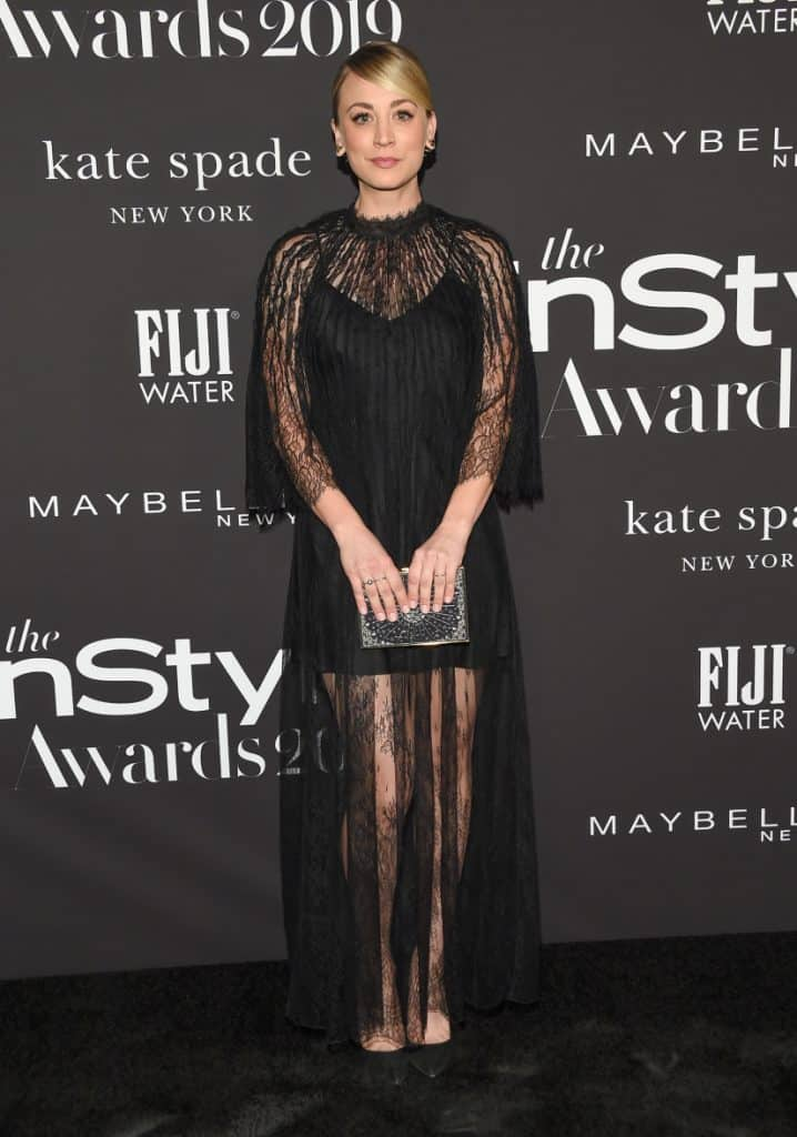 Kaley Cuoco at InStyle Awards