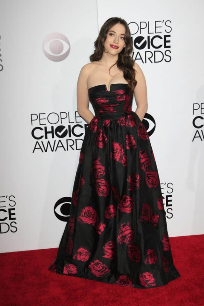 Kat Dennings at the People's Choice Awards