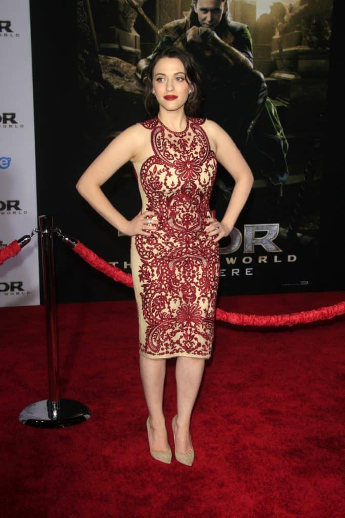 Kat Dennings at the Thor The Dark World Premiere