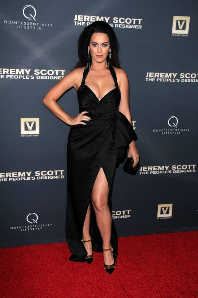Katy Perry at the Jeremy Scott - The People's Designer World Premiere
