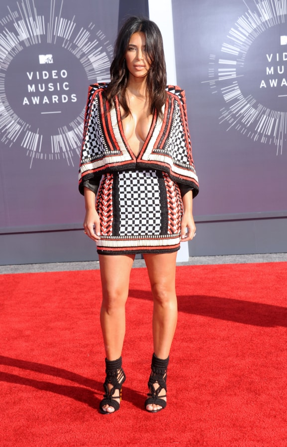 Kim Kardashian at Mtv Video Music Awards