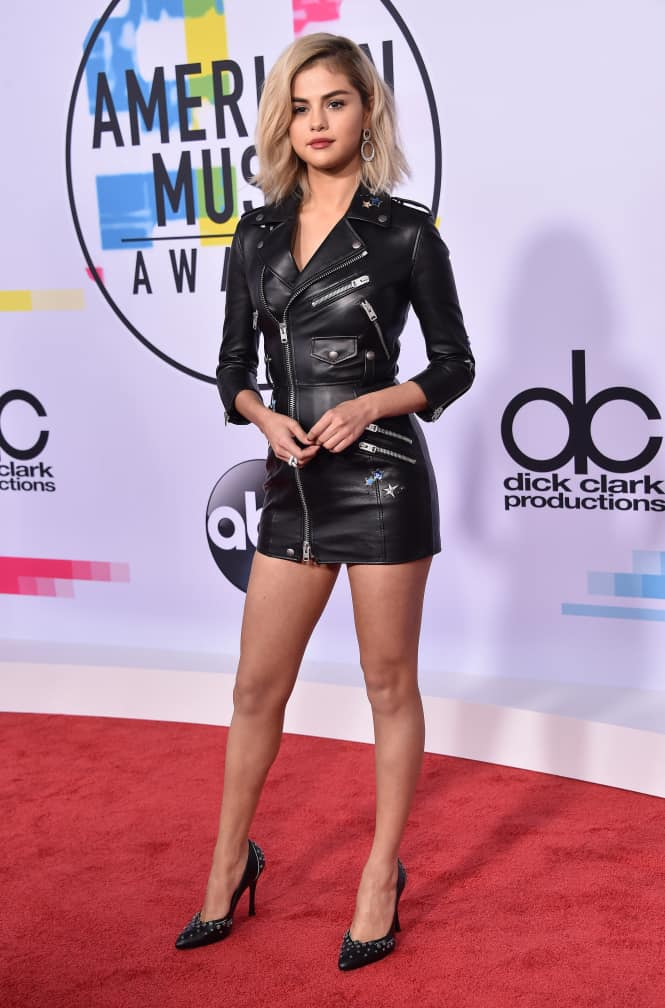 Selena Gomez at for the American Music Awards