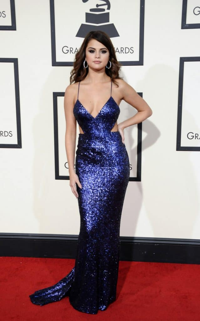 Selena Gomez at the GRAMMY Awards