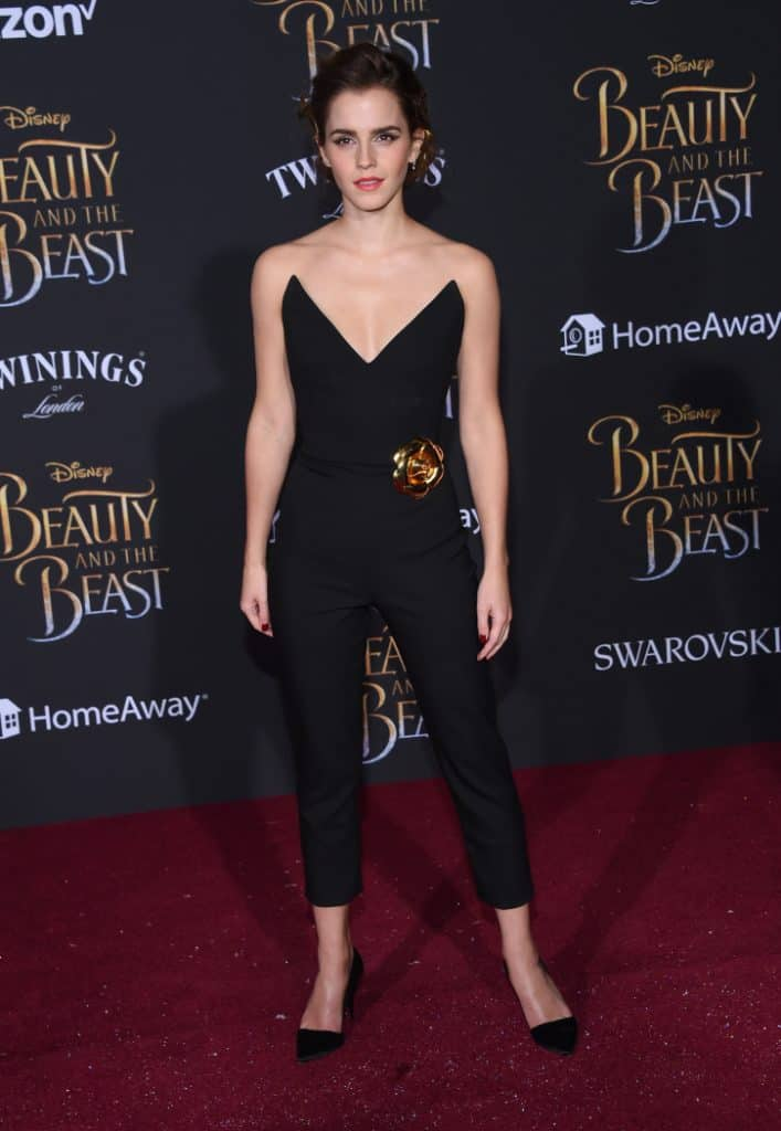 mma Watson at the Beauty and the Beast Premiere