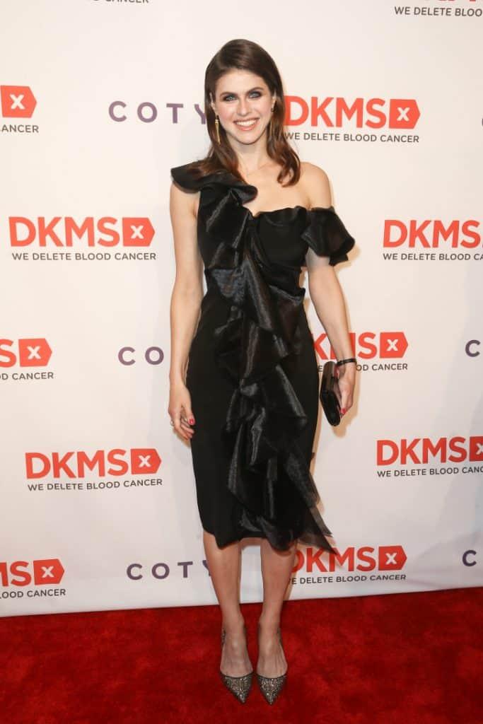 Actress Alexandra Daddario at the DKMS Big Love