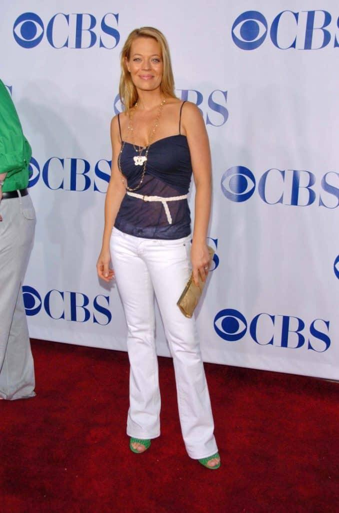 Actress Jeri Ryan at CBS's TCA Press Tour