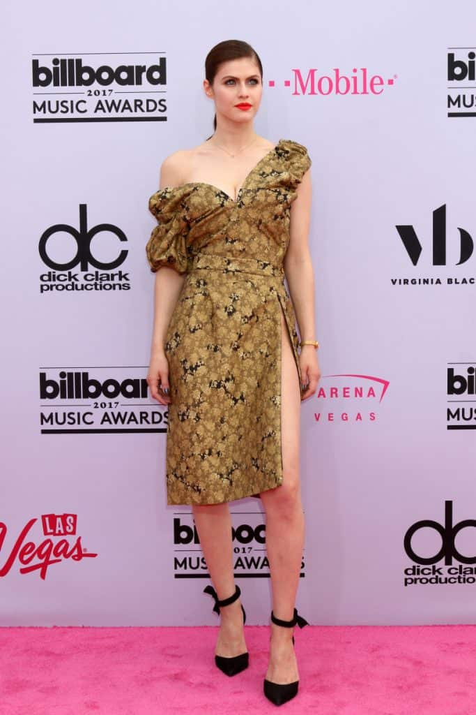 Alexandra Daddario at the Billboard Music Awards
