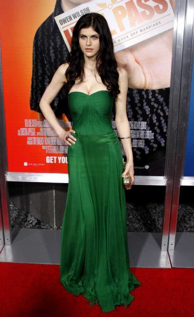 Alexandra Daddario at the Premiere of Hall Pass
