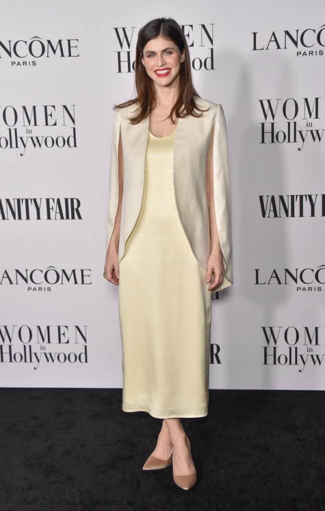 Alexandra Daddario at the Vanity Fair Lancome Women
