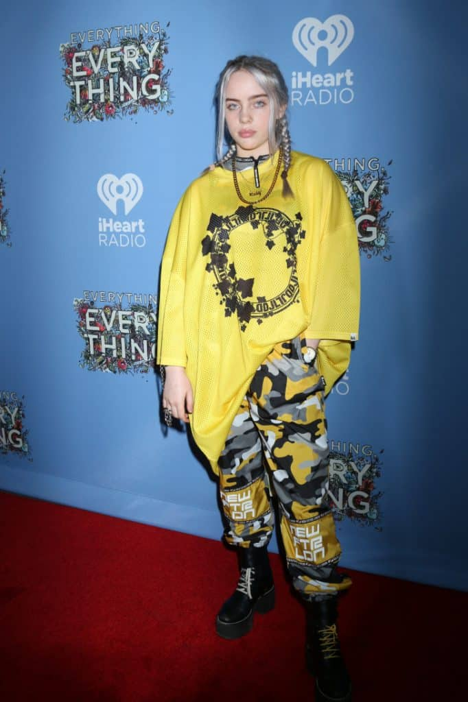 Billie Eilish at the Everything, Everything Premiere
