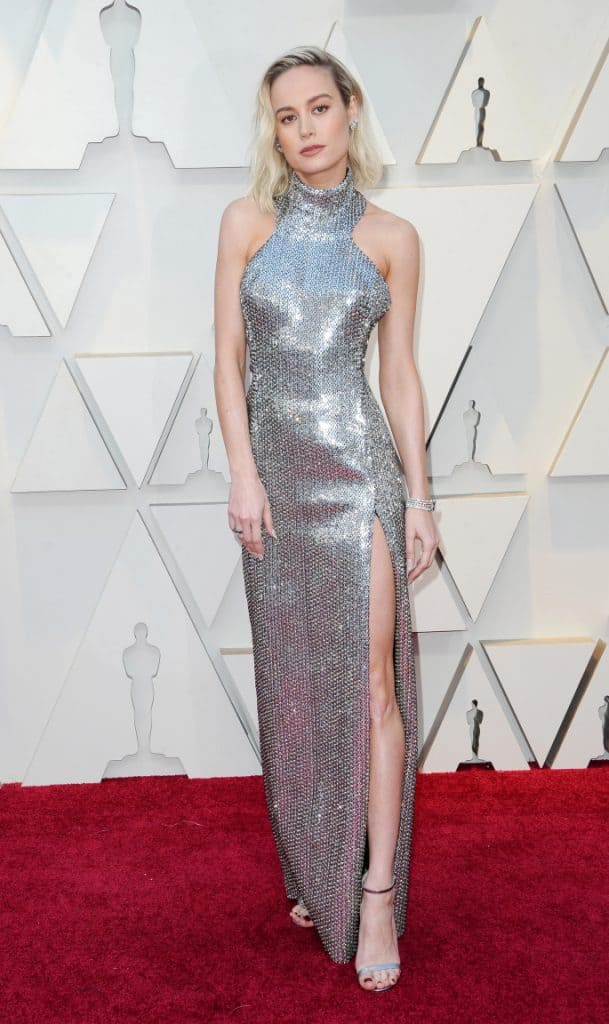 Brie Larson at the Academy Awards