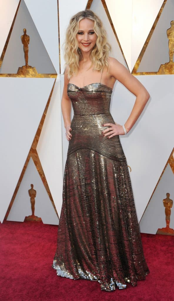 Jennifer Lawrence at the Academy Awards