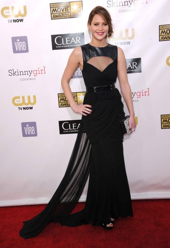 Jennifer Lawrence at the Critic's Choice Awards