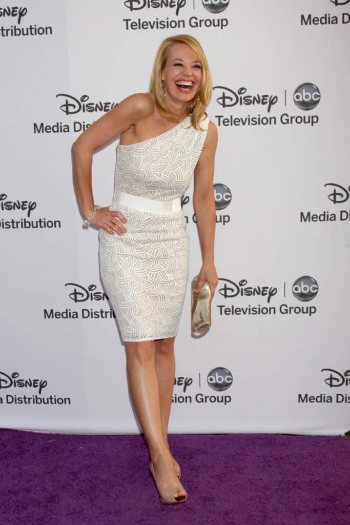 Jeri Ryan arrives at the ABC Disney International Upfronts