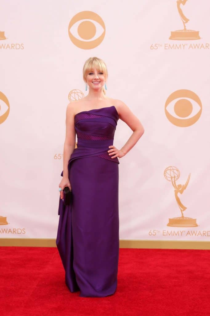 Melissa Rauch at the Annual Primetime Emmy Awards
