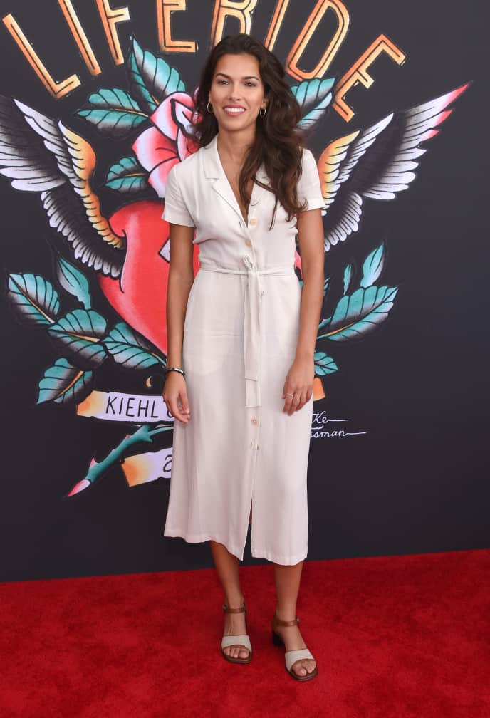 Actress Sofia Pernas at Century City