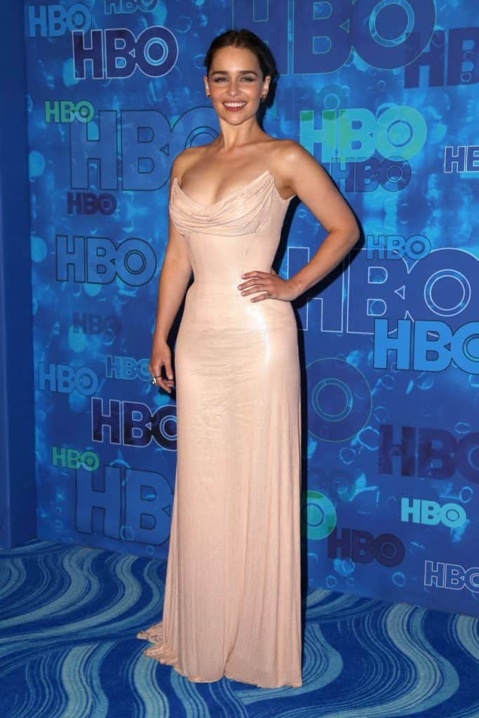 Emilia Clarke at the HBO Emmy After Party