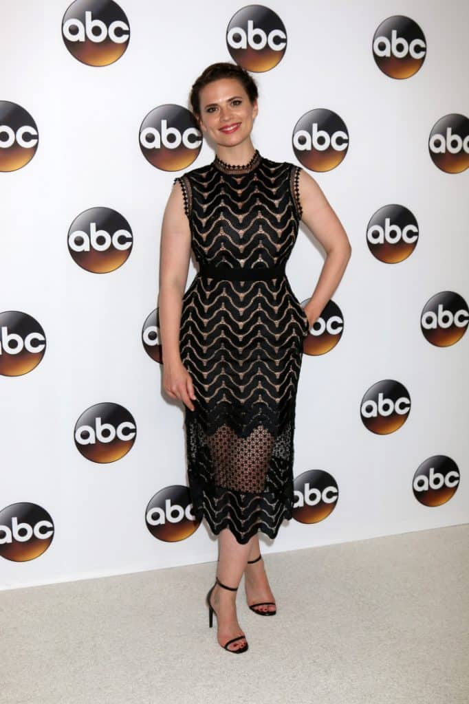 Hayley Atwell at the ABC TCA Summer Party