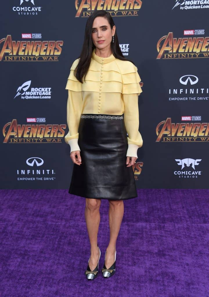 Jennifer Connelly at the Avengers Infinity War Premiere