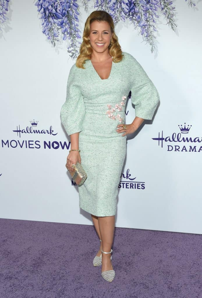 Jodie Sweetin arrives to the Hallmark Channel Summer TCA Event