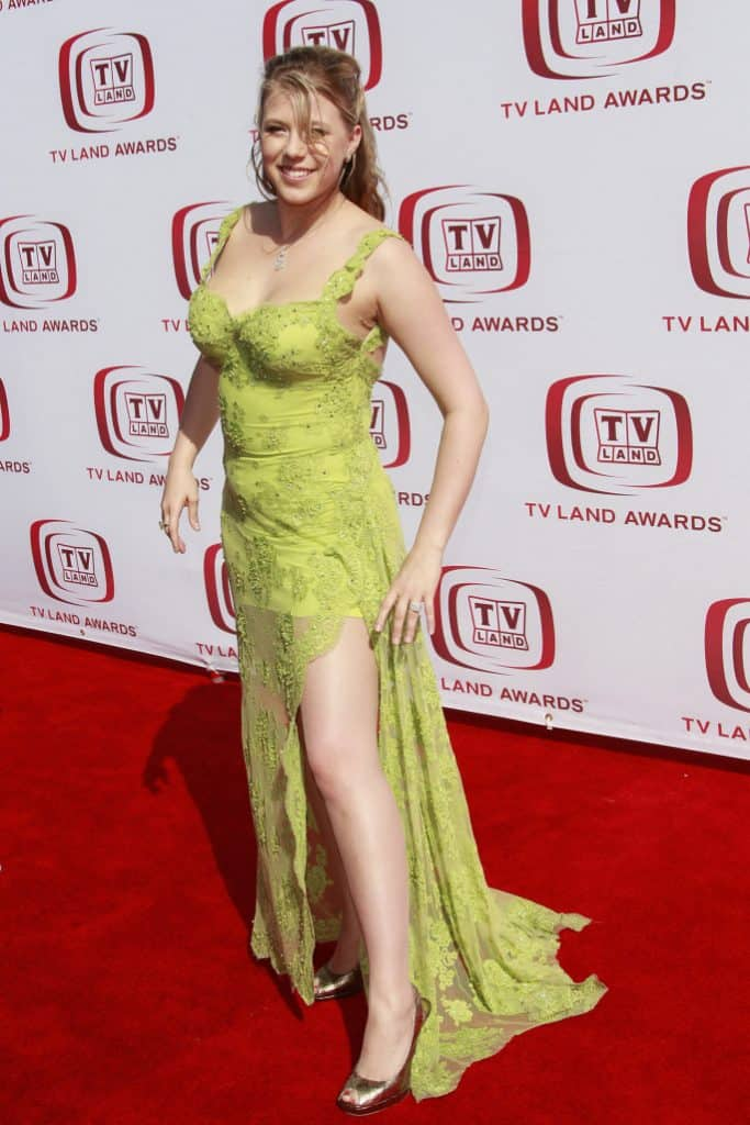 Jody Sweetin at the annual TV Land Awards