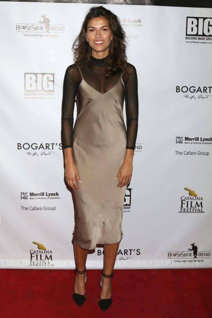 Sofia Pernas at the Catalina Film Festival