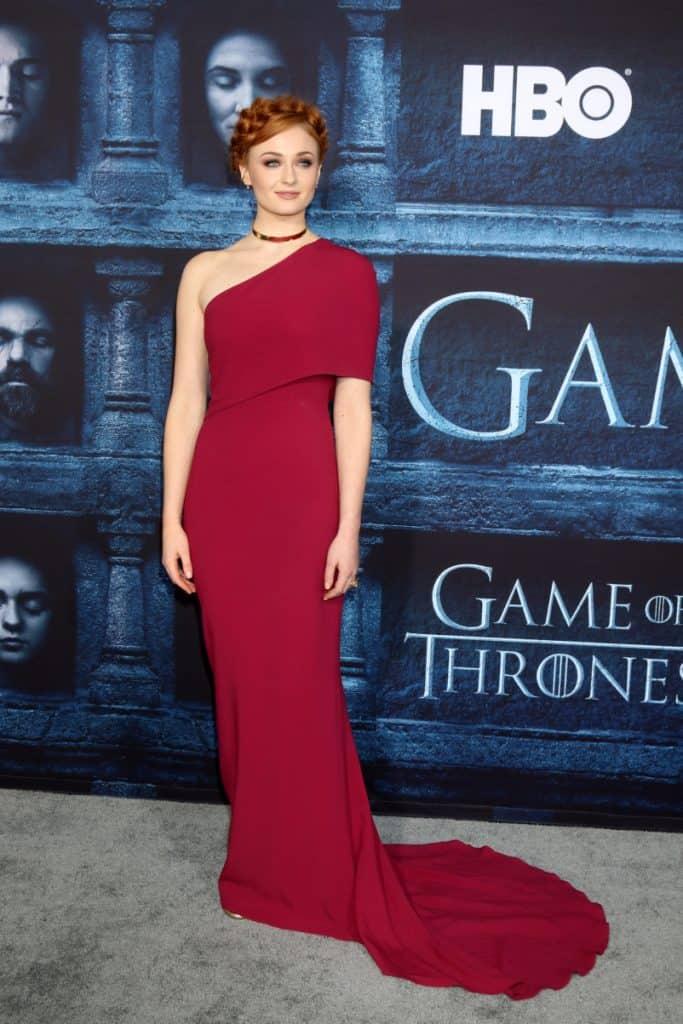 Sophie Turner at the Game of Thrones Season 6 Premiere
