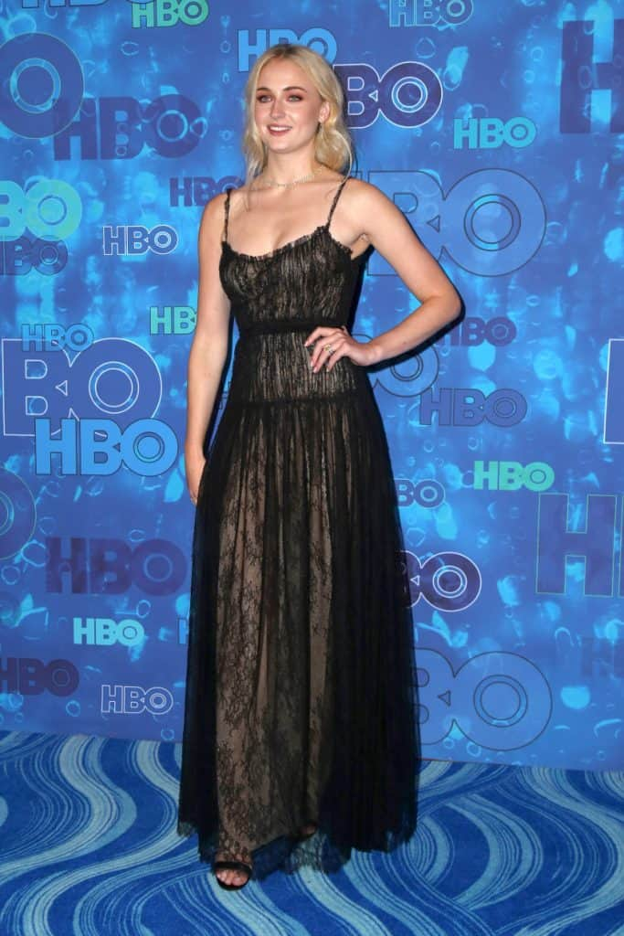 Sophie Turner at the HBO Emmy After Party