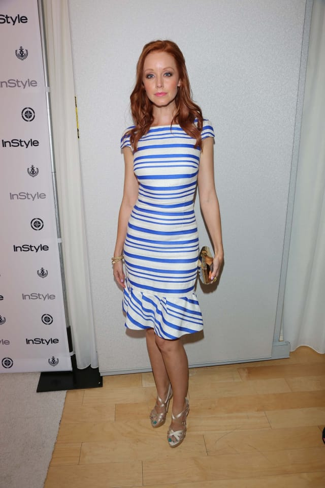 Actress Lindy Booth at the Annual InStyle Summer Soiree