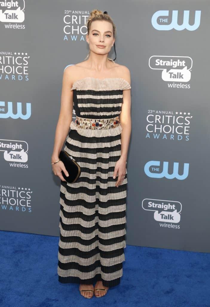 Margot Robbie at Critics' Choice Awards