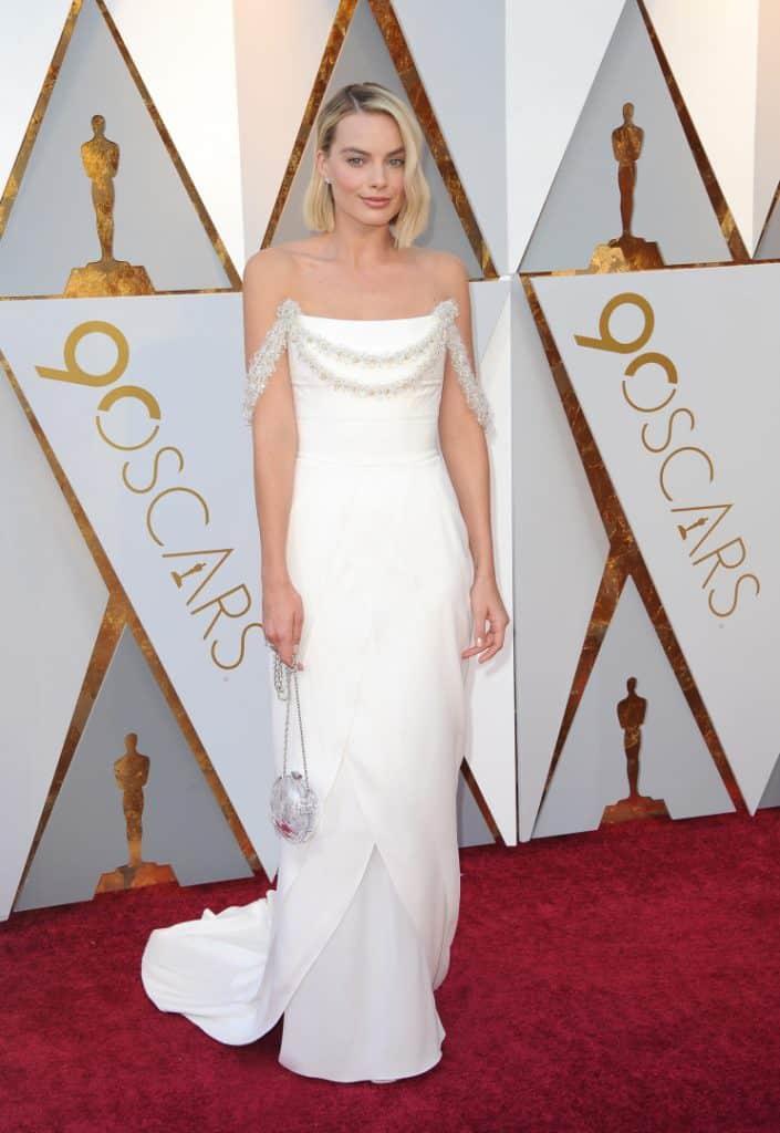 Margot Robbie at the Academy Awards