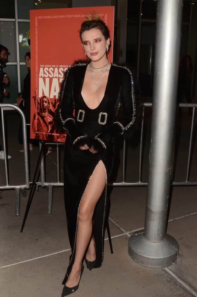 Bella Thorne at ArcLight Theater