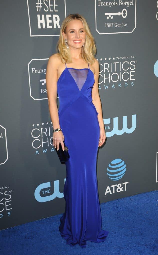 Kristen Bell at Annual Critics' Choice Awards