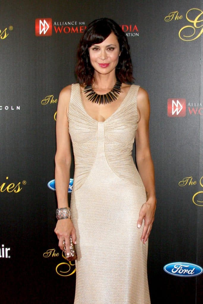Catherine Bell at the Gracie Awards Gala