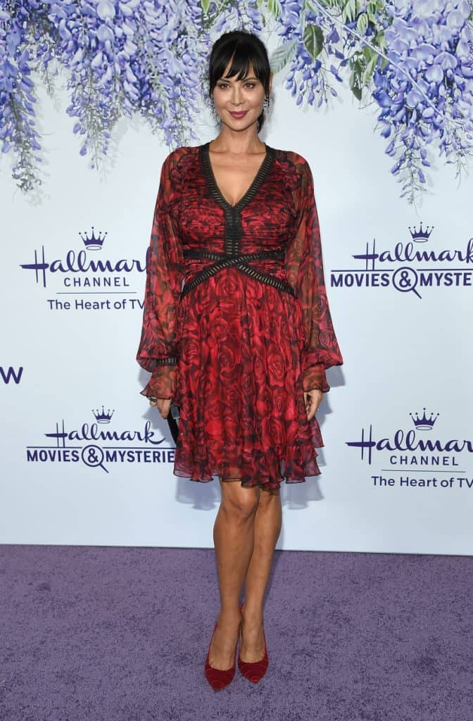 Catherine Bell at the Hallmark Channel Summer TCA Event