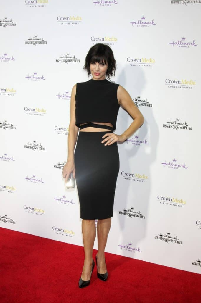 Catherine Bell at the Hallmark TCA Party