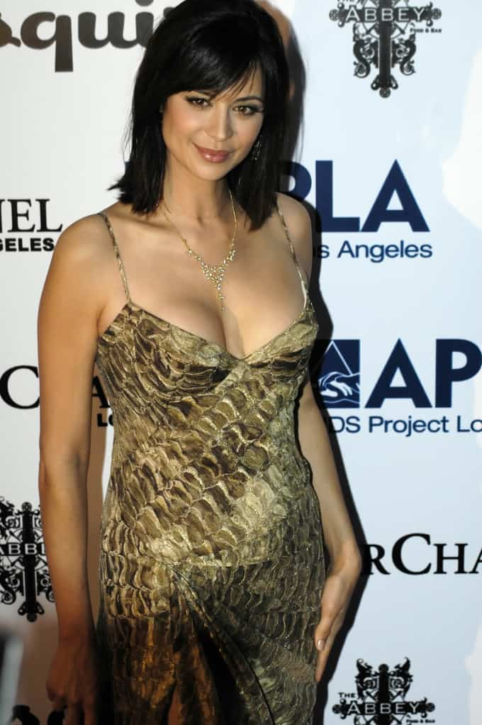 Catherine Bell on the red carpet