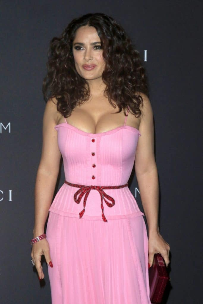 Hollywood Actress Salma Hayek