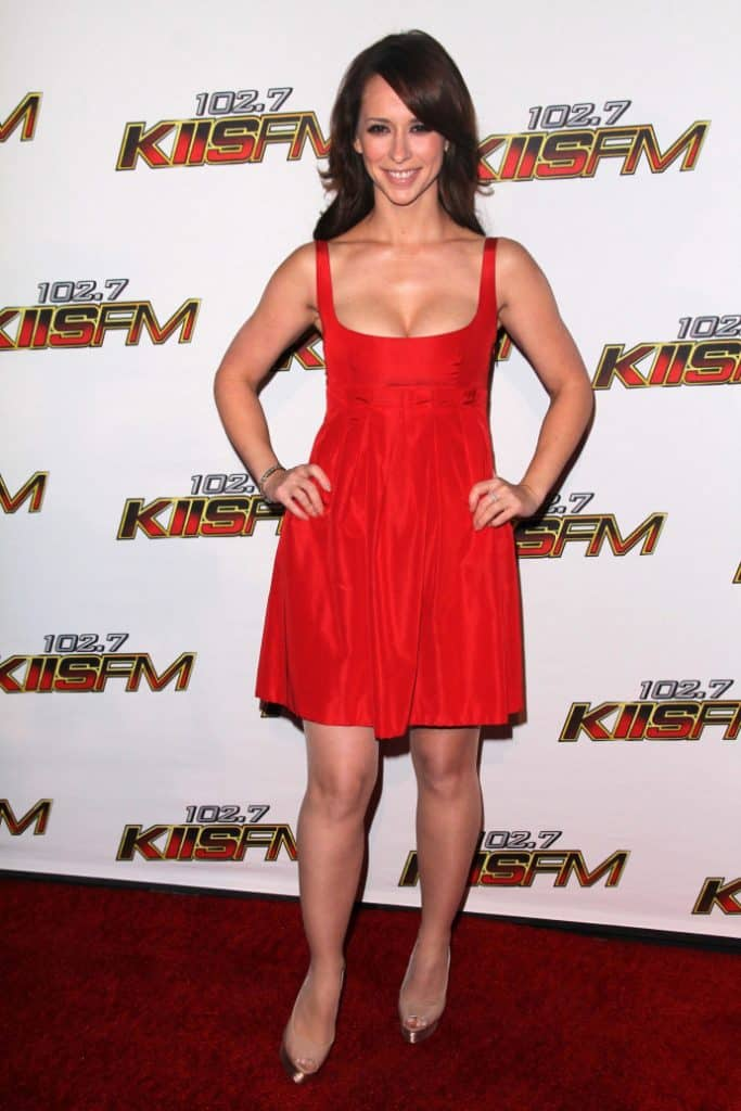 Jennifer Love Hewitt at KIIS FM's Jingle Ball