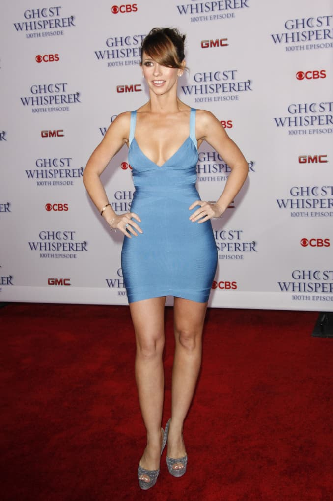 Jennifer Love Hewitt at the Ghost Whisperer Celebration