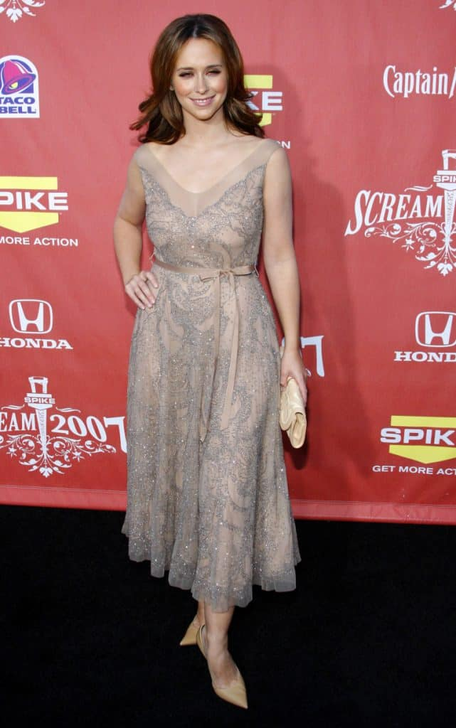 Jennifer Love Hewitt at the Spike TV's Scream Fest