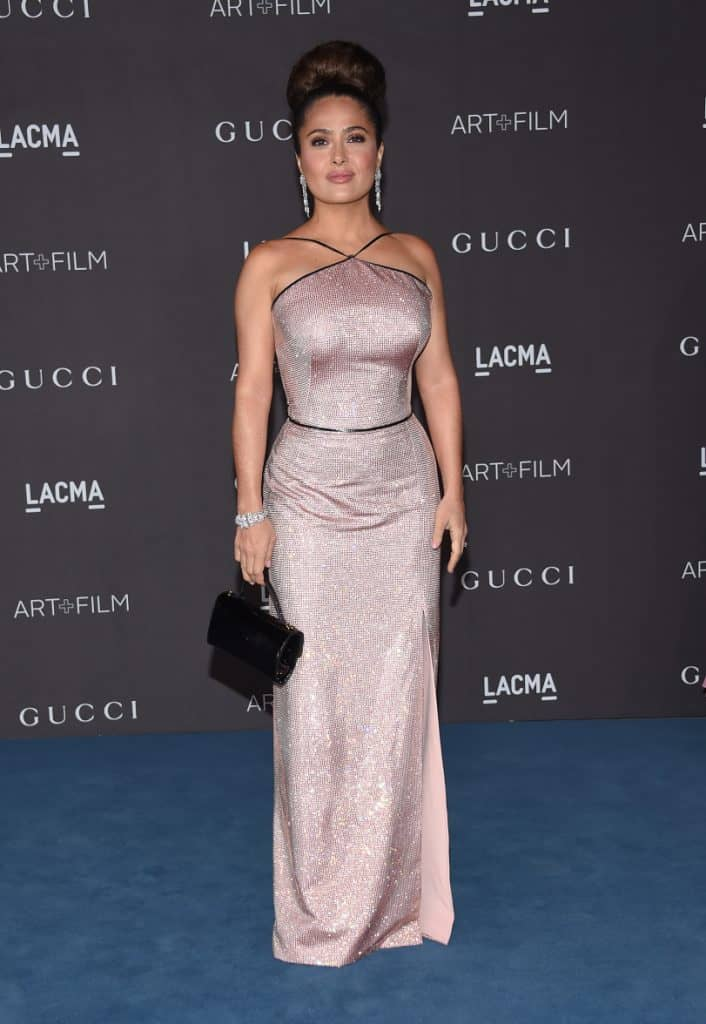 Salma Hayek at for the Gala