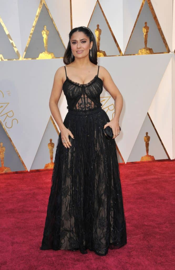 Salma Hayek at the Academy Awards