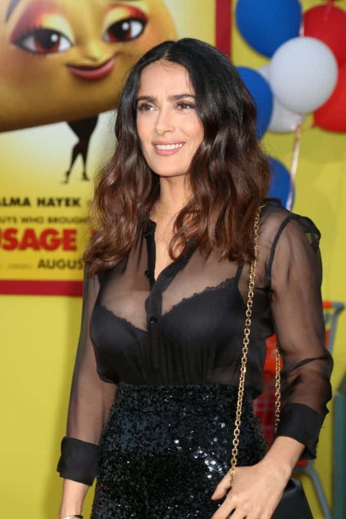 Salma Hayek at the Sausage Party Premiere