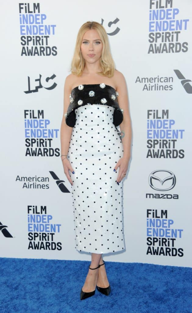 Scarlett Johansson at the Film Independent Spirit Awards