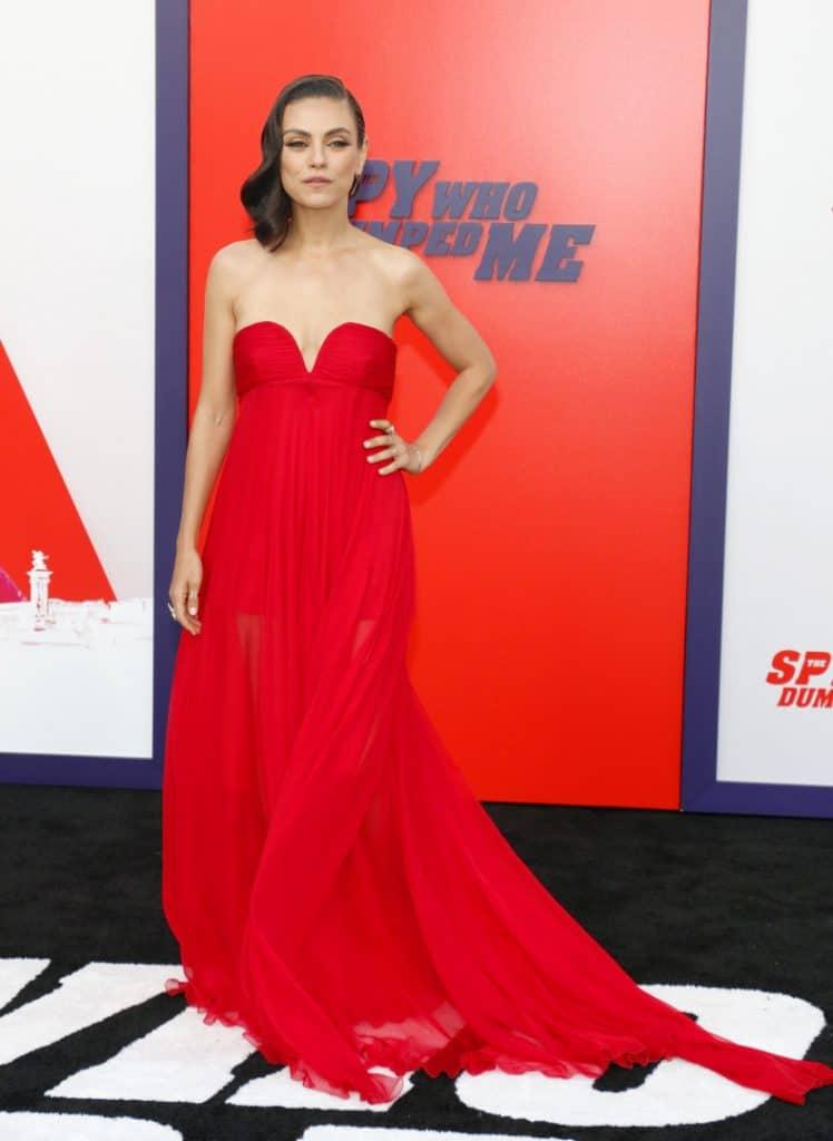 Actress Mila Kunis